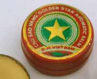 CAO SAO VANG, GOLDEN STAR BALM, Бальзам Золотая звезда. МИНЭКСПОРТ, СРВ , Ханой